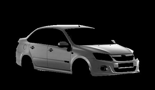 Цвета кузова Lada Granta Sport
