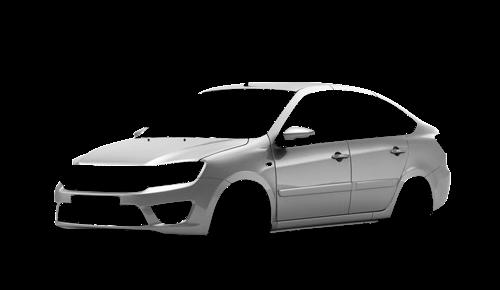 Цвета кузова Lada Granta Liftback